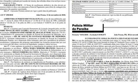 Sargento é expulso da PM por cobrar propina de motoristas em falsa blitz, na Paraíba