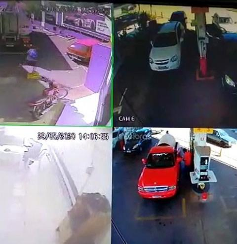 Vídeo: homem esfaqueia frentista por causa de troco